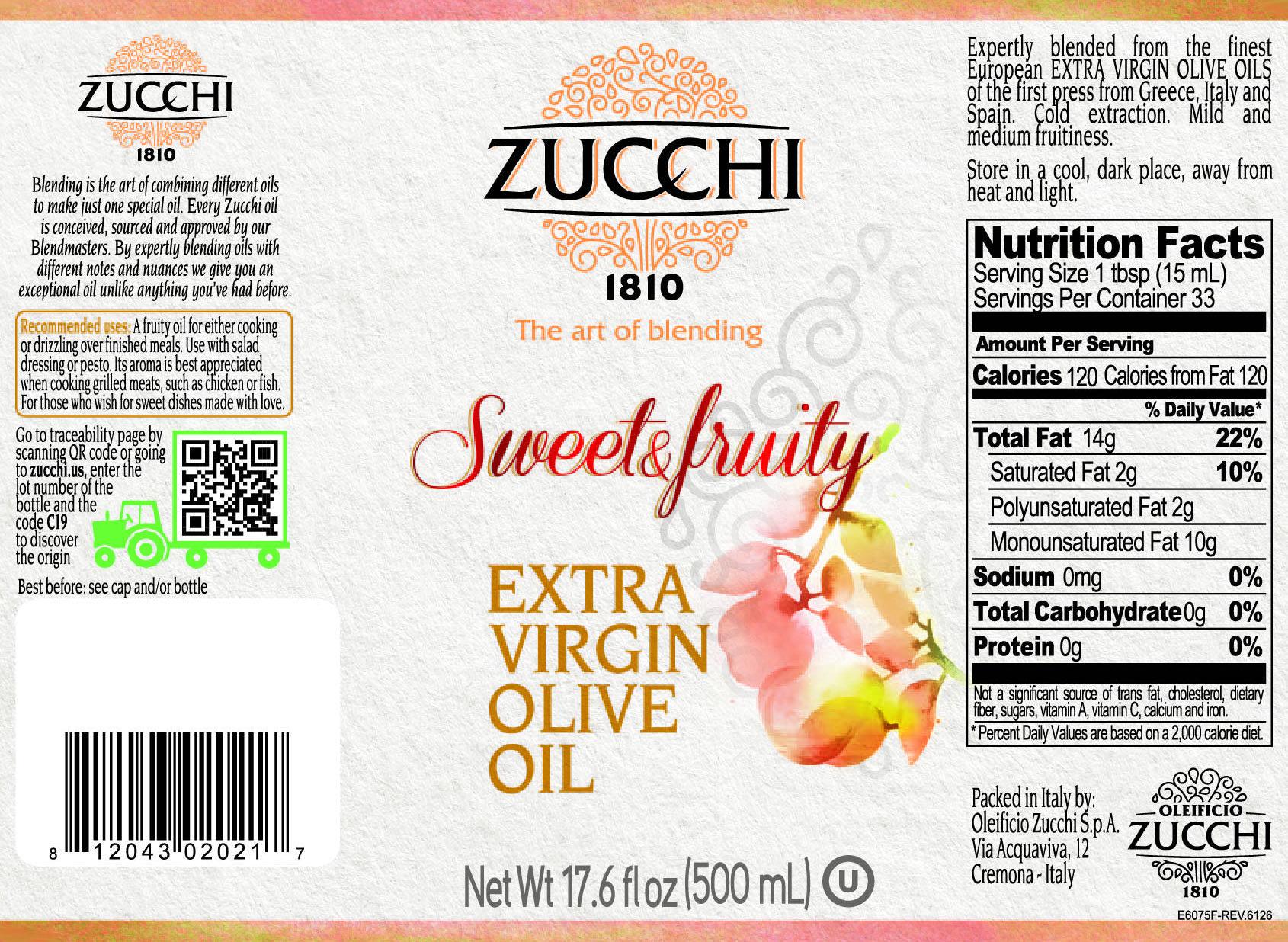 E6075F-Zucchi evo Sweet&Fruity 500ml USA