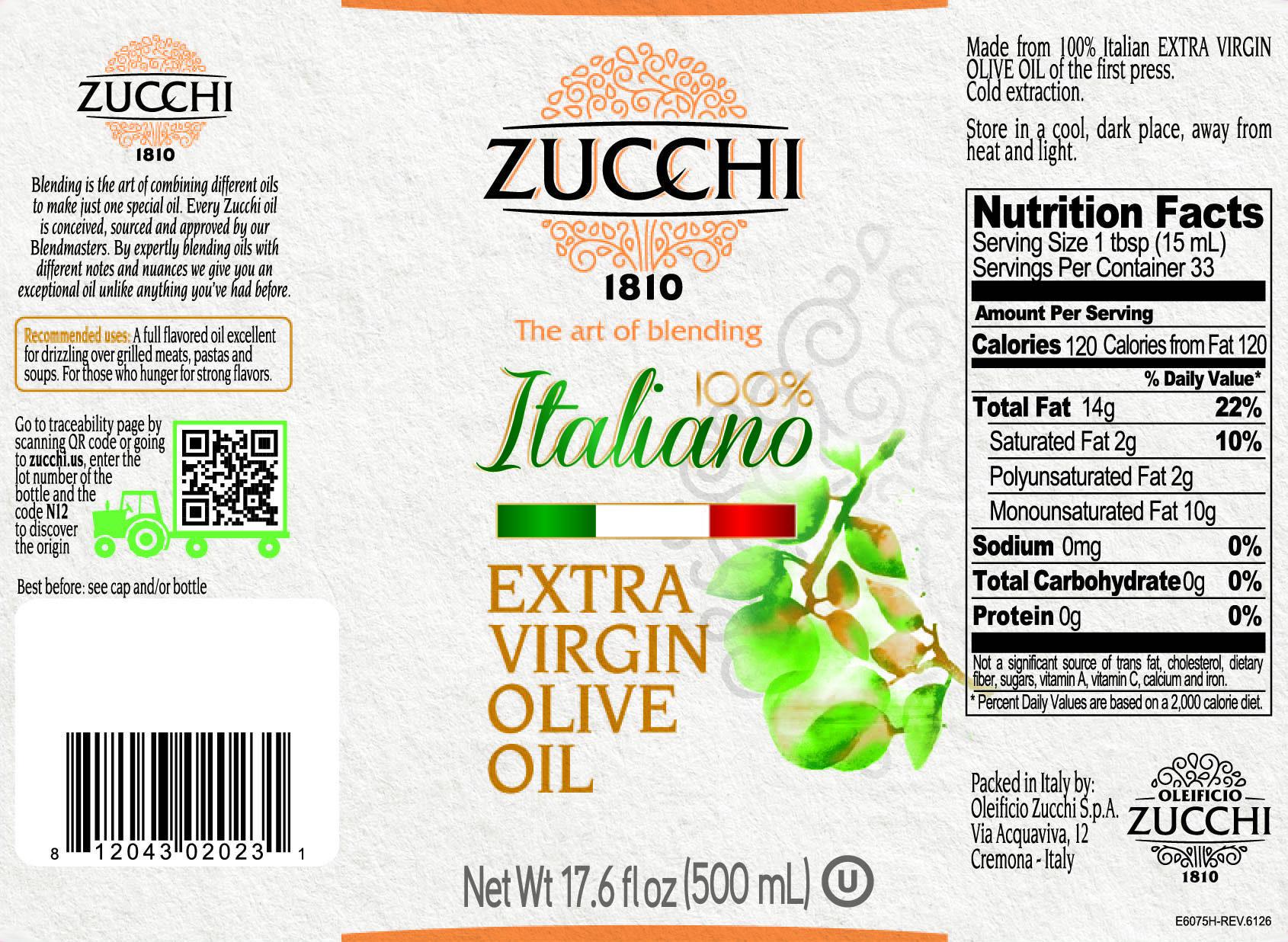 E6075H-Zucchi evo 100% ita 500ml USA