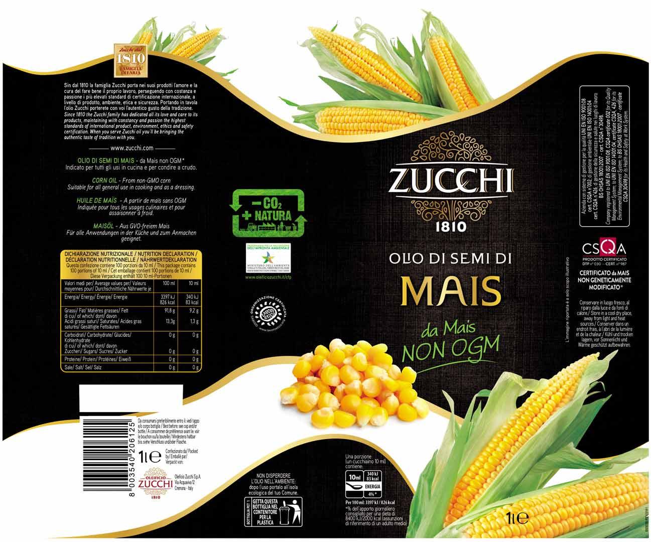 Zucchi Mais 1L sleeve EU