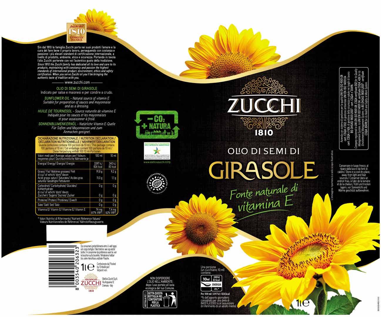 E63017- Zucchi Girasole 1L sleeve
