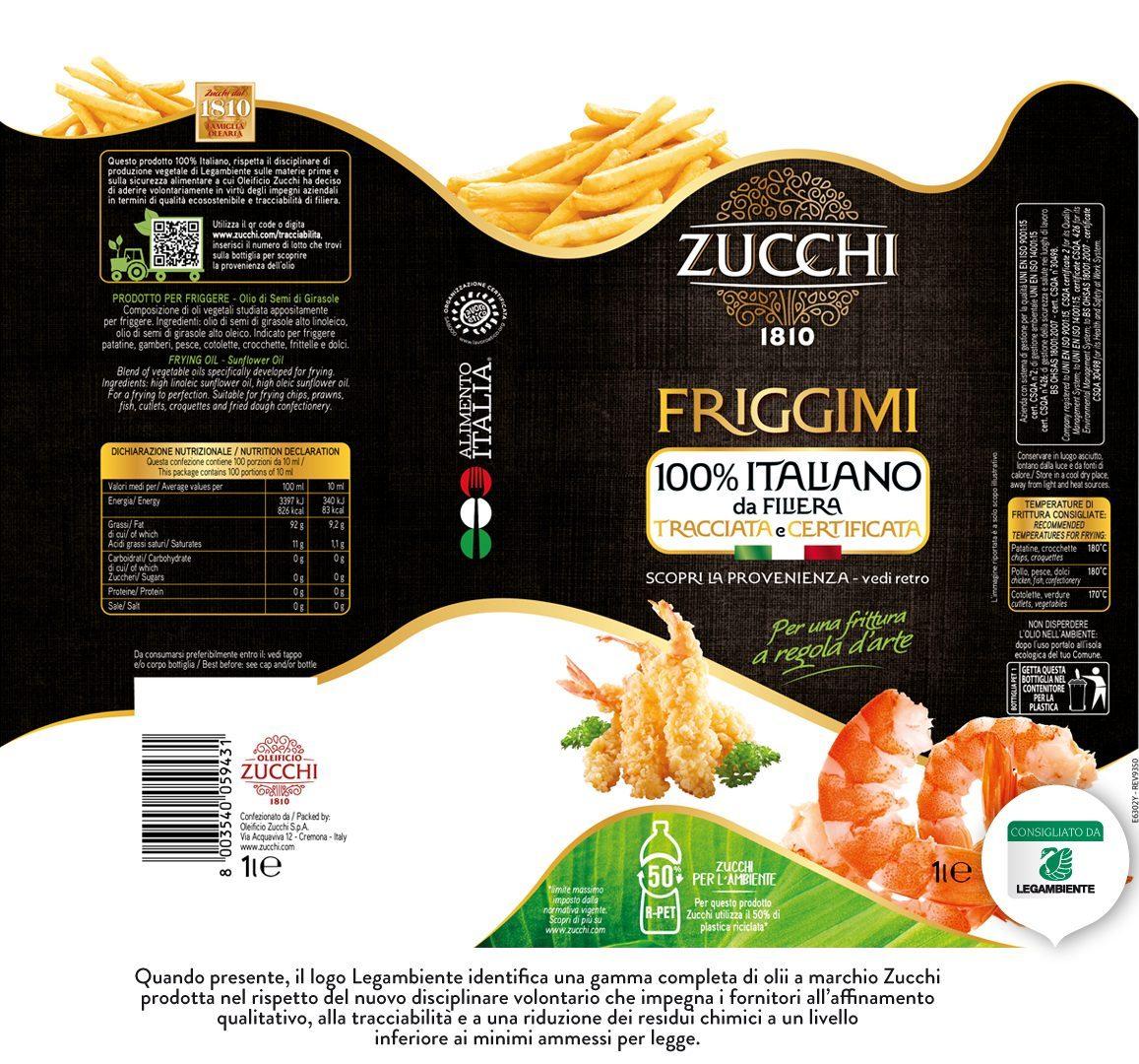 E6302Y Zucchi Friggimi 100% ita Legambiente 1l
