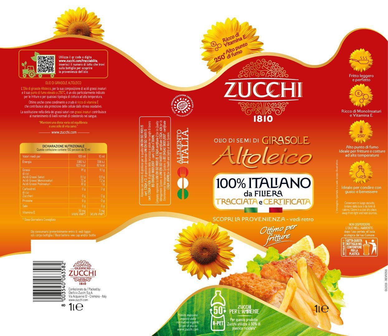 E6303I Zucchi girasole Altoleico 100% Ita