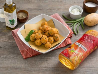 ricetta-bocconcini-fagiolini-patate-olio-aromatizzato-pesto-zucchi