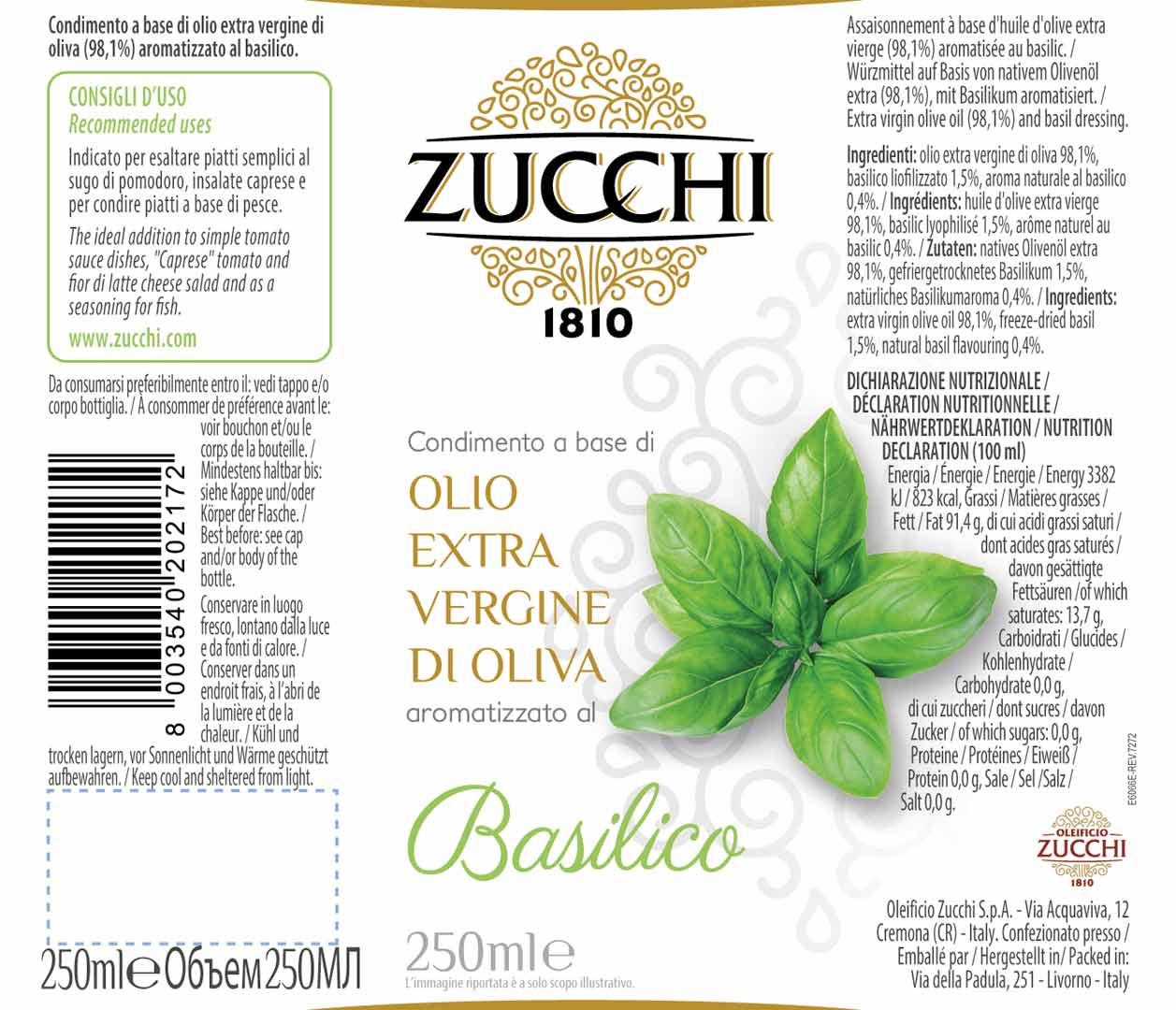 Etichetta BasilicoXX