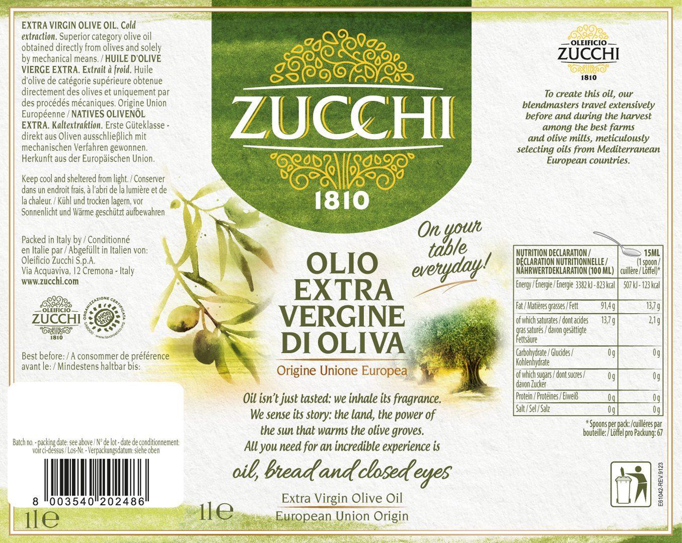 Etichetta E61042 Zucchi Everyday 1l QT  x sito