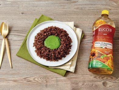 ricetta-riso-rosso-olio-girasole-altoleico-italiano-zucchi