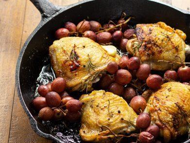 Grape Chicken Recipe - Zucchi