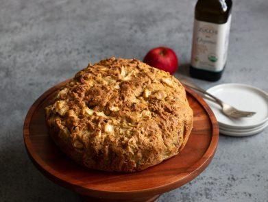 Spiced Apple Olive Oil Cake - Zucchi-5