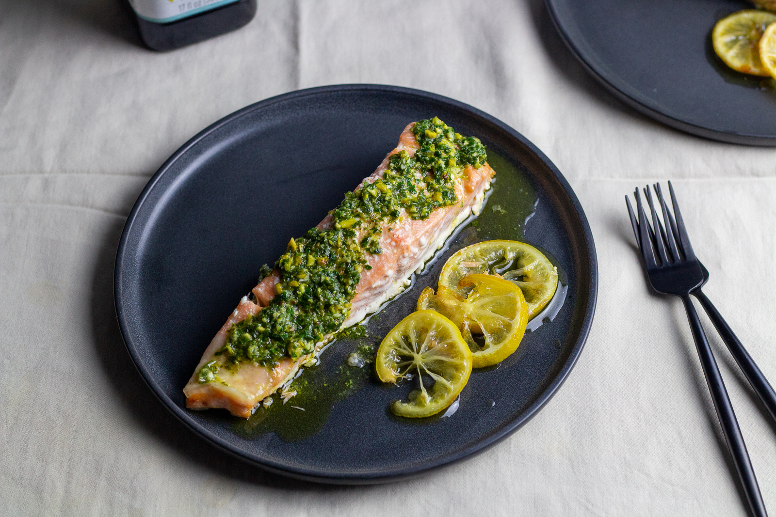 Olive Oil Poached Salmon - Zucchi Recipe