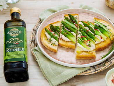 ricetta-bruschette-asparagi-maionese-tofu-olio-evo-italiano-zucchi